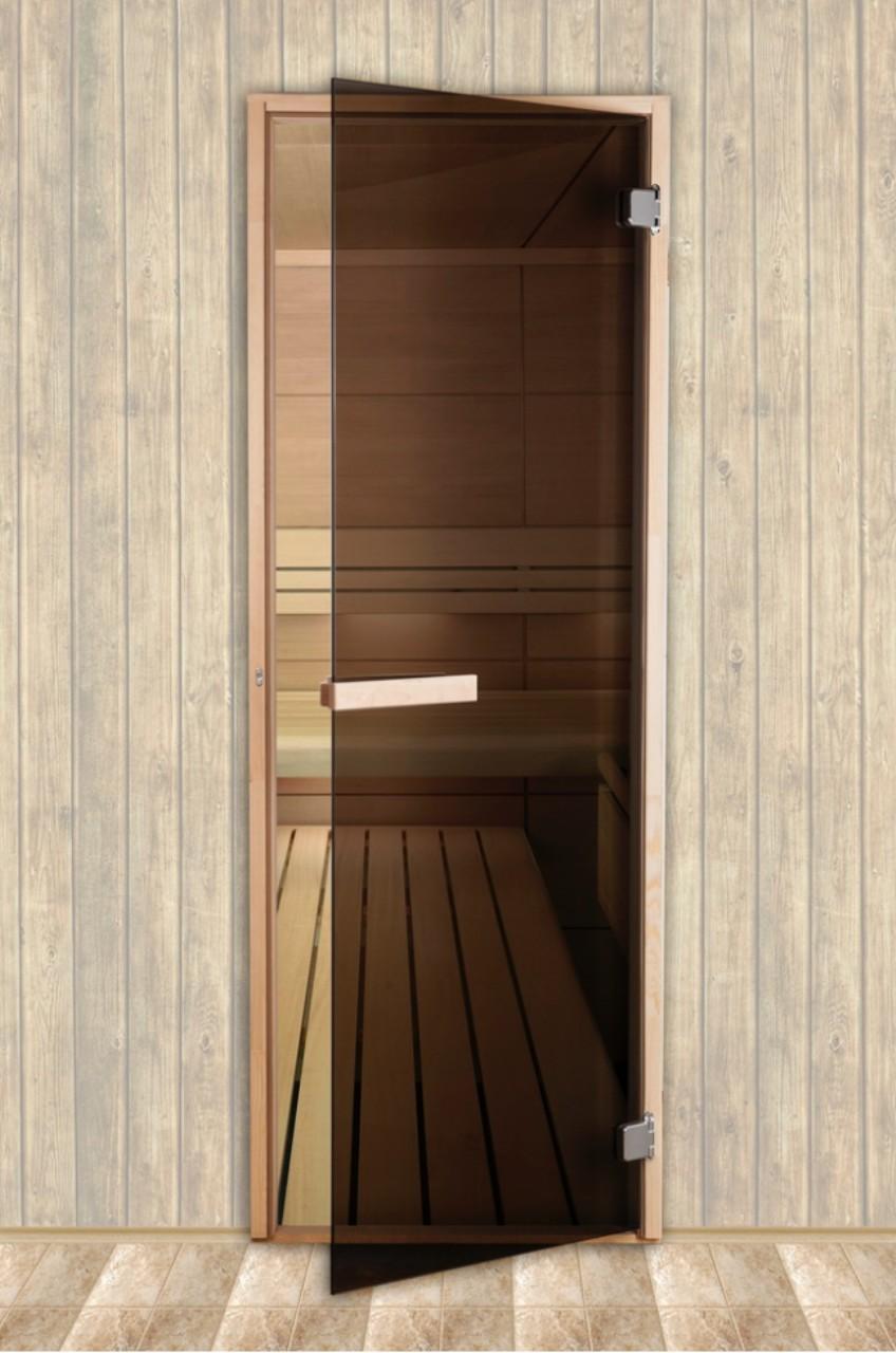 дверь в сауну стеклянная купить
